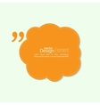 Quote sign icon vector