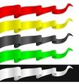 Fluttering ribbons vector