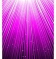 Stars are falling on the background of purple rays vector