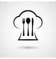 Cutlery with cap vector