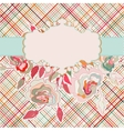 Romantic elegant floral with vintage roses eps 8 vector