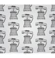 Vintage hand drawn seamless pattern vector
