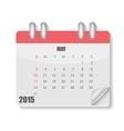 2015 year calendar vector