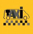 Taxi bus vector