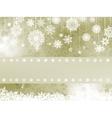 Elegant christmas background with snowflake eps 8 vector