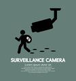 Surveillance camera graphic vector