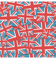Uk flag pattern vector
