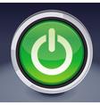 Power button - abstract design element vector