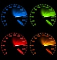 Speedometer set vector