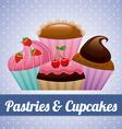 Pastry design vector