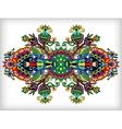 Ornamental floral adornment vector