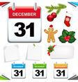 Calendars set vector