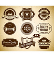 Vintage labels collection 21 vector
