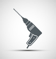 Icons electric drill vector