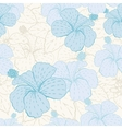 Elegance seamless pastel flower pattern vector