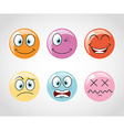 Emoticons icons vector