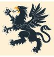 Heraldic griffin5 vector