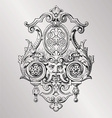 Victorian decoration vector