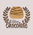 Chocolate design vector