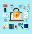Data protection and safe work vector