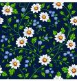 Daisy seamless background vector