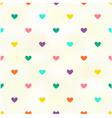 Seamless heart background texture vector