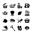 New food icons vector