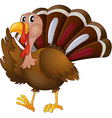 A turkey vector