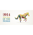 Chinese new year of the horse file vector