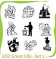 Eco - green life - set 2 vector