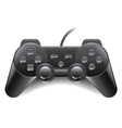 Game controller isolated vector