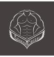 Logo sports center or club vector