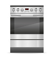 Stove for kitchen vector