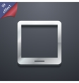 Tablet icon symbol 3d style trendy modern design vector