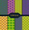 Mardi gras pattern backgrounds vector