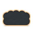 Blackboard cloud icon vector