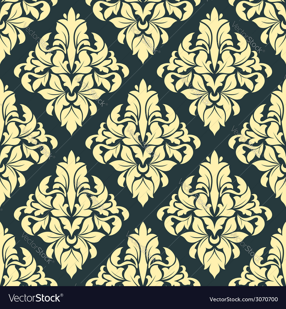 Geometric bold arabesque pattern vector | Price: 1 Credit (USD $1)