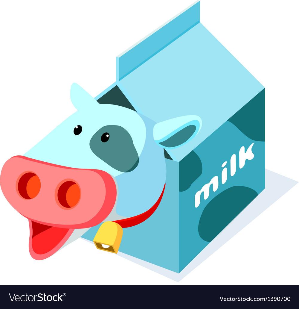 Icon milk vector | Price: 1 Credit (USD $1)