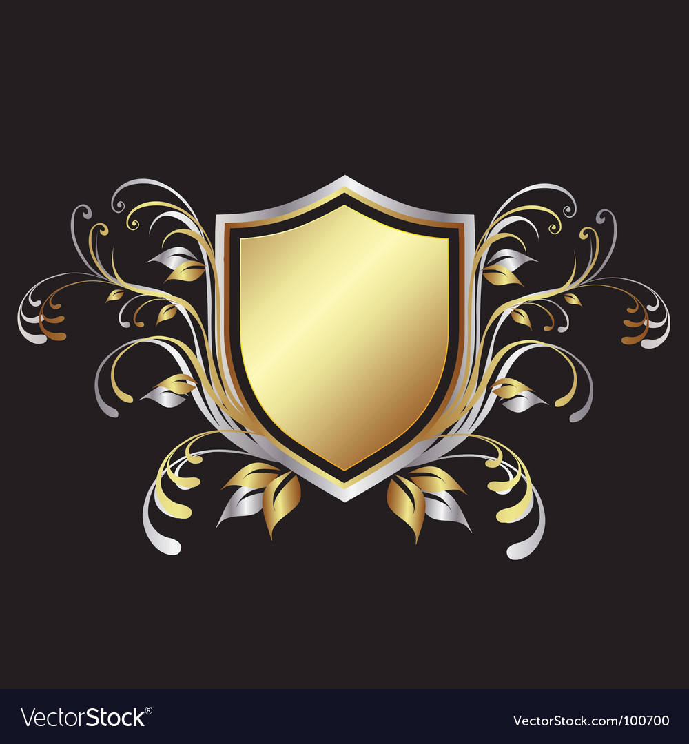 Shield design element vector | Price: 1 Credit (USD $1)