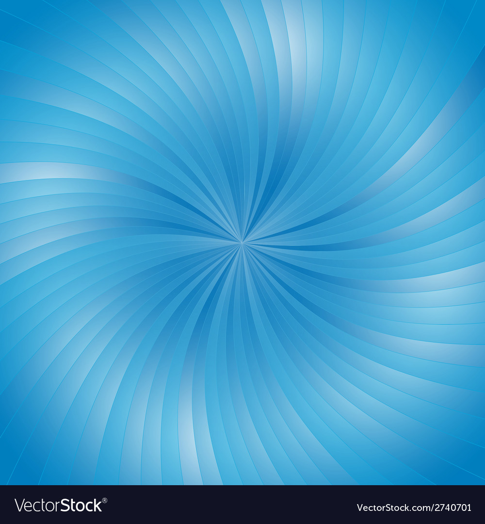 Blue smooth light lines background vector | Price: 1 Credit (USD $1)