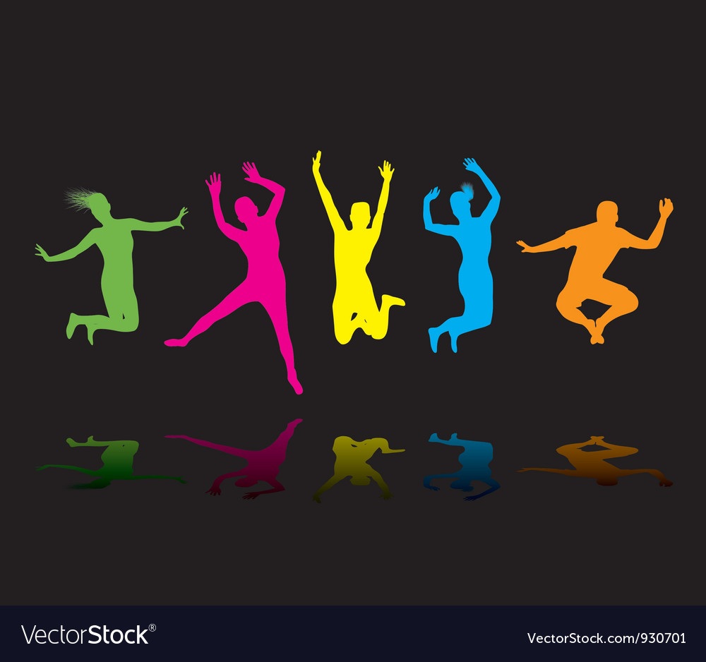 Colourful jumpers vector | Price: 1 Credit (USD $1)