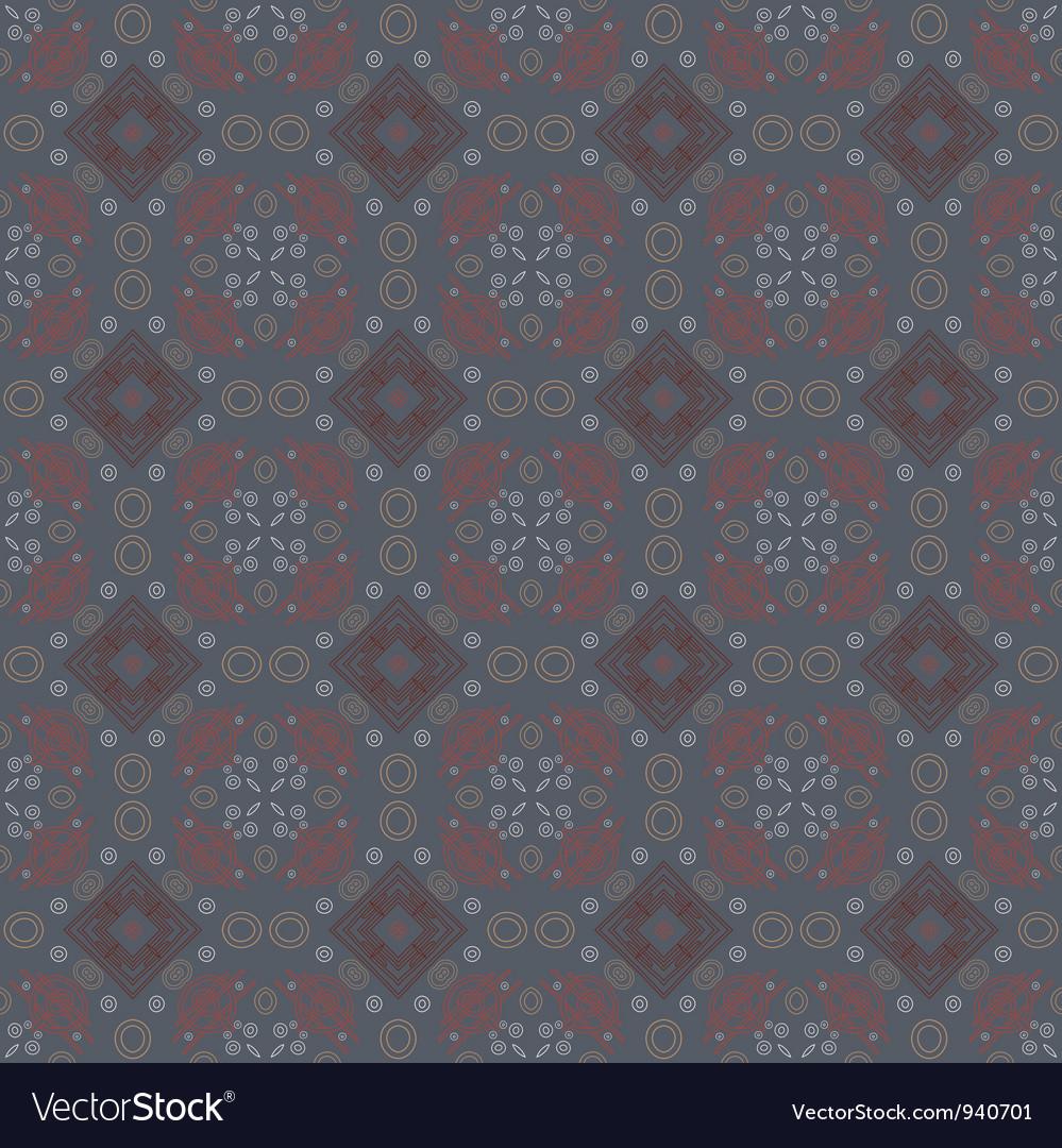 Decorative retro pattern vector | Price: 1 Credit (USD $1)