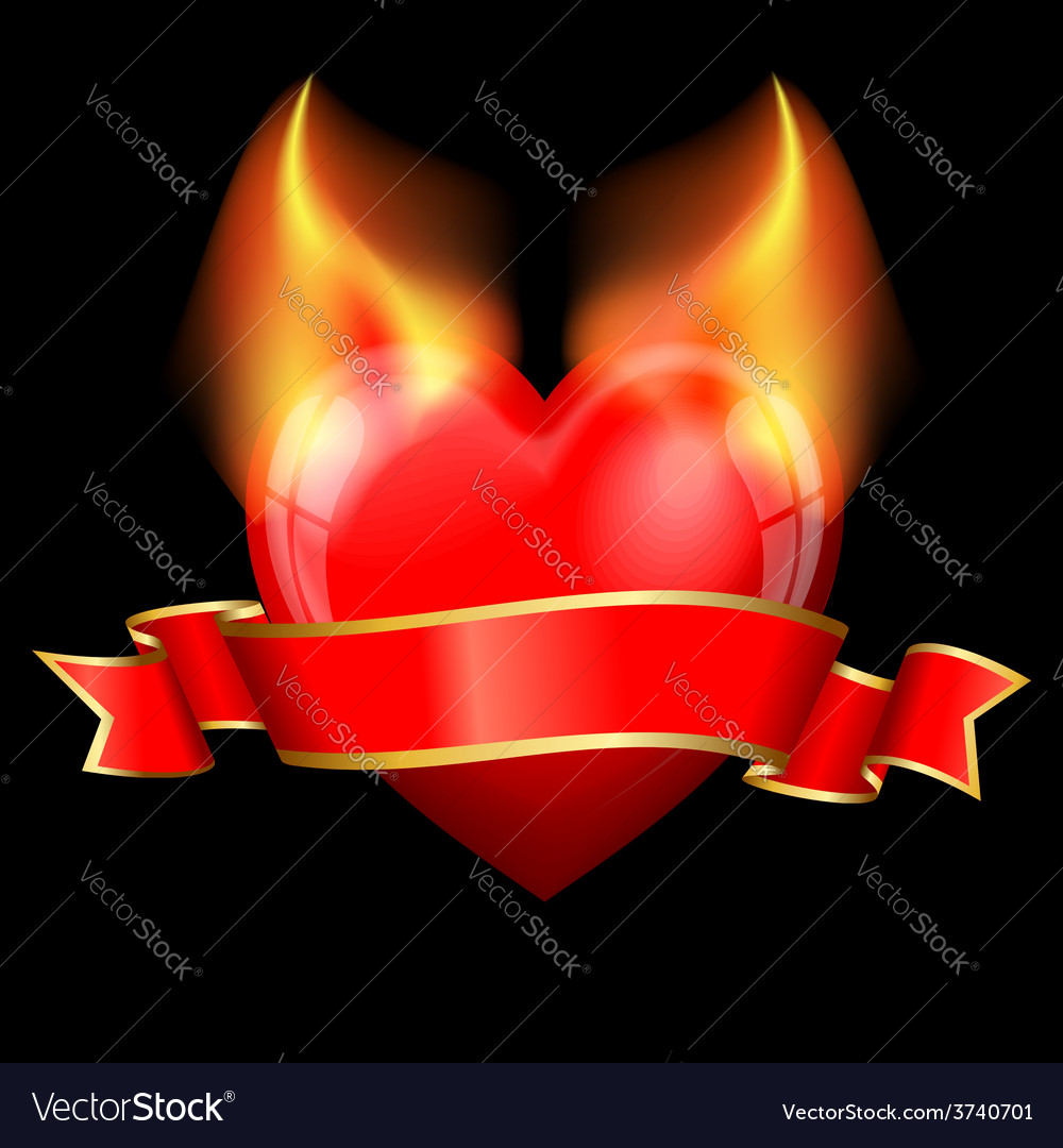 Devil heart vector | Price: 1 Credit (USD $1)