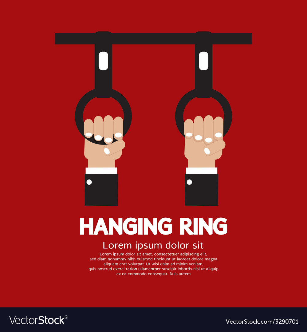 Hanging ring in the public transport vehicles vector | Price: 1 Credit (USD $1)