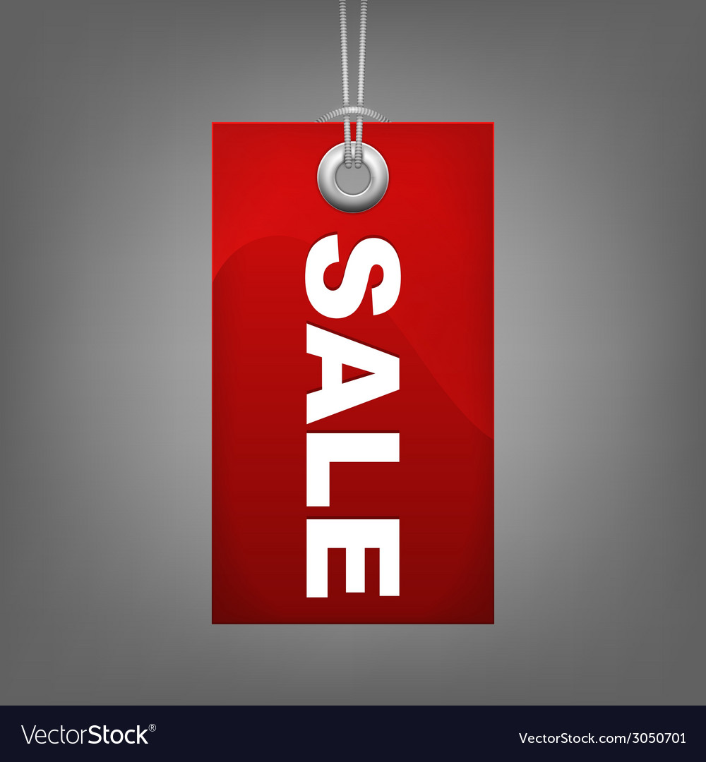 Red price tag sale vector   Price: 1 Credit (USD $1)