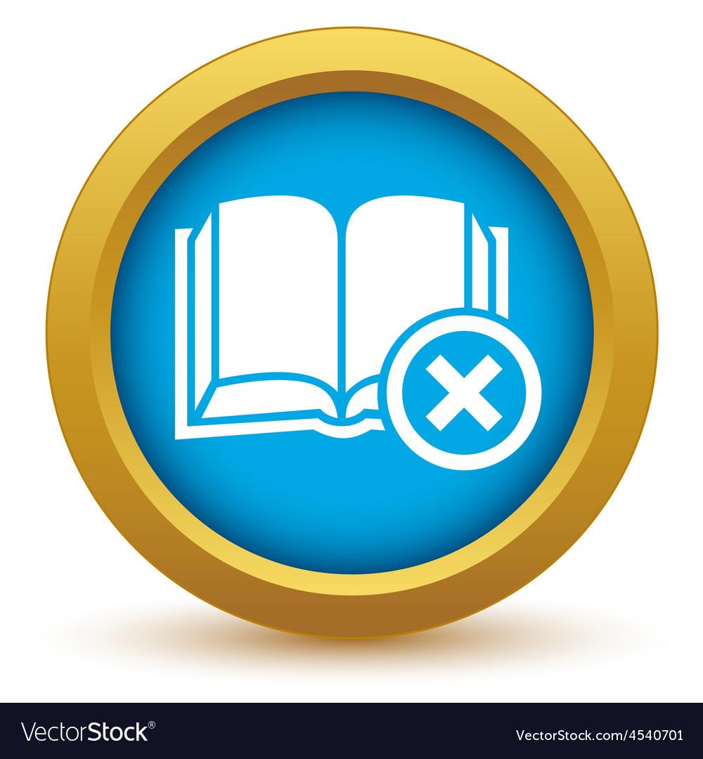 Remove book icon vector | Price: 1 Credit (USD $1)