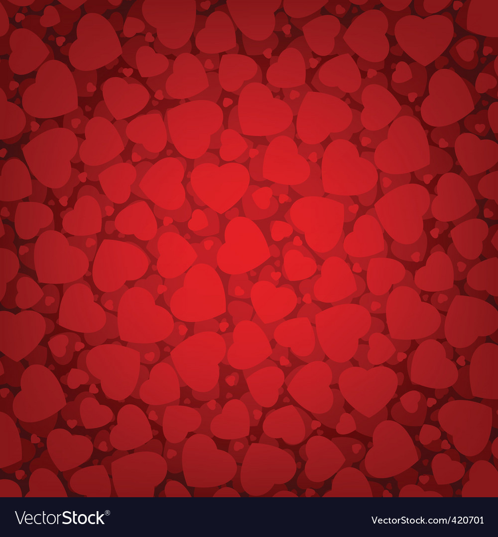 Valentine's day background vector | Price: 1 Credit (USD $1)
