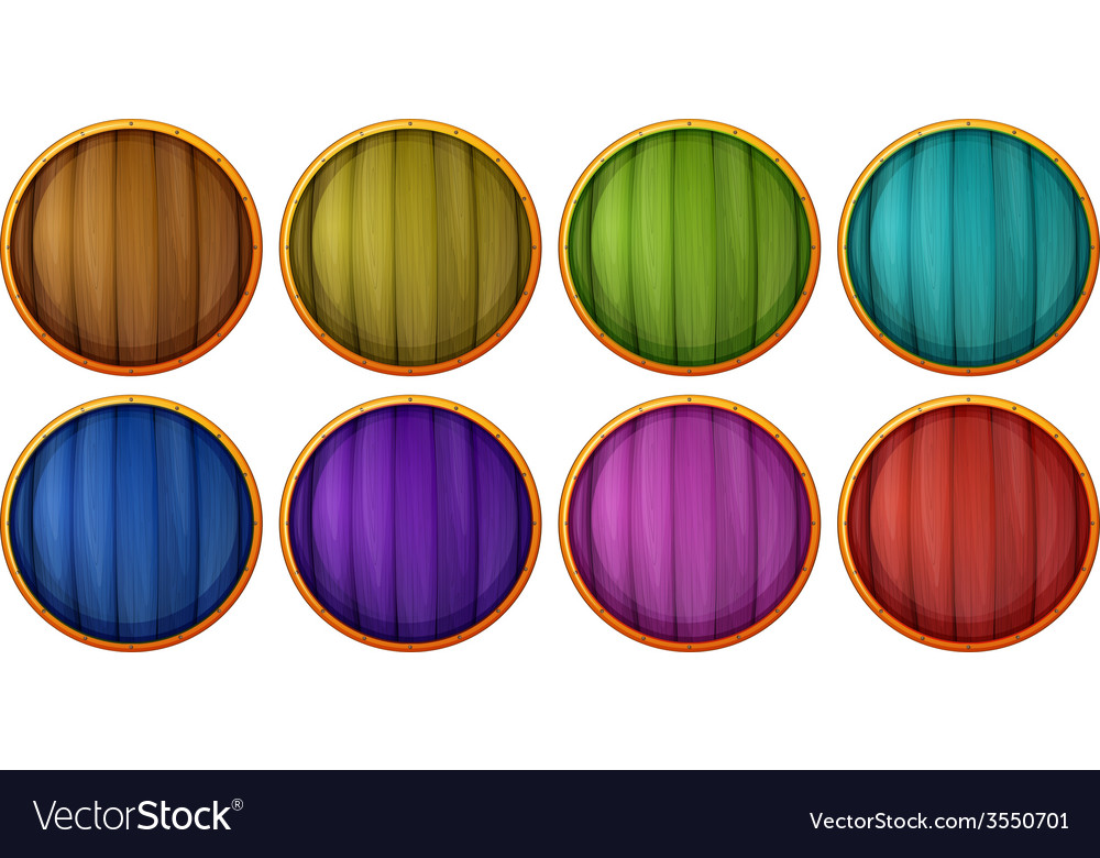 Wooden buttons vector   Price: 1 Credit (USD $1)