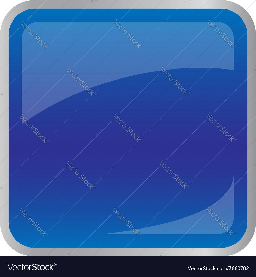 Square dark blue button for website vector | Price: 1 Credit (USD $1)