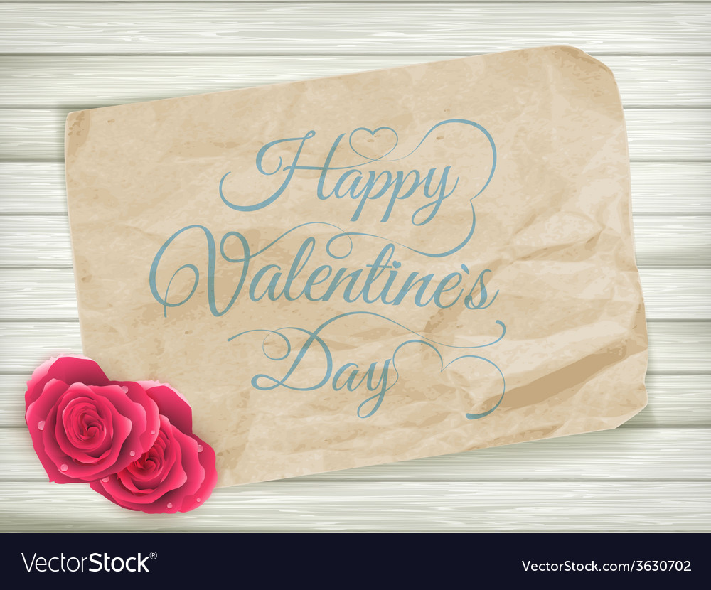 Valentines day background eps 10 vector | Price: 1 Credit (USD $1)